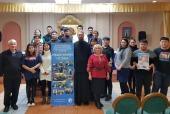 Студенты из Китая приняли участие в работе II Рождественской гостиной в главном храме Забайкалья