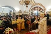 Святейший Патриарх Кирилл совершил великое освящение Казанского храма в Узком г. Москвы
