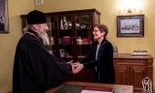 Митрополит Киевский Онуфрий встретился с послом США на Украине