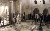 Группа паломников из России совершила богослужение в храме святителя Николая Мирликийского в Демре