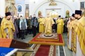В Неделю 30-ю по Пятидесятнице митрополит Минский Павел совершил Литургию в Свято-Духовом кафедральном соборе Минска