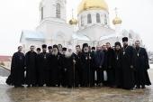 Архиереи Волгоградской митрополии совершили освящение соборного храма святого апостола Иоанна Богослова в городе Волжском
