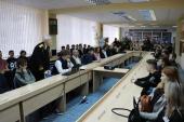 При поддержке Мелекесской епархии в Димитровграде состоялся круглый стол, посвященный наследию праведного воина Феодора Ушакова