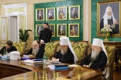 His Holiness Patriarch Kirill chairs the last in 2018 session of the Holy Synod of the Russian Orthodox Church