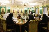Τελευταία συνεδρία της Ιεράς Συνόδου της Ρωσικής Εκκλησίας του έτους 2018 υπό την προεδρία του Αγιωτάτου Πατριάρχη Κυρίλλου