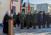 Глава Кузбасской митрополии освятил закладной камень Кемеровского президентского кадетского училища