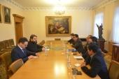 Секретарь ОВЦС по межрелигиозным отношениям встретился с делегацией из Индонезии