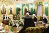 Священный Синод утвердил новую редакцию регламента присвоения и отзыва грифа Синодального отдела по взаимоотношениям Церкви с обществом и СМИ
