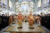 В Сретенском ставропигиальном монастыре почтили память священномученика Илариона, архиепископа Верейского
