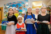 Глава Казахстанского митрополичьего округа посетил детский дом «Солнышко» и поздравил воспитанников с наступающим Новолетием и Рождеством Христовым