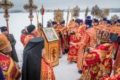 В Воткинске молитвенно почтили столетие мученической гибели протоиерея Николая Чернышова и его дочери Варвары