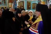 Правящий архиерей новообразованной Минусинской епархии прибыл к месту своего служения