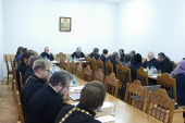 Состоялось первое в новом году заседание Ученого совета Минской духовной семинарии