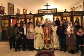 Εορτασμός Χριστουγέννων στην αντιπροσωπεία της Ρωσικής Εκκλησίας στη Δαμασκό