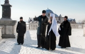 Новоназначенный глава Приамурской митрополии прибыл в Хабаровскую епархию