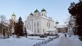 В праздник Собора Пресвятой Богородицы митрополит Киевский Онуфрий совершил Литургию во Флоровском монастыре Киева