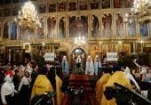 Слово Святейшего Патриарха Кирилла в праздник Собора Пресвятой Богородицы после Литургии в Успенском соборе Московского Кремля