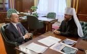 Митрополит Челябинский Григорий встретился с губернатором Челябинской области