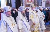 В день памяти мучеников Никомидийских Патриарший экзарх всея Беларуси возглавил Литургию в Успенском Жировичском монастыре
