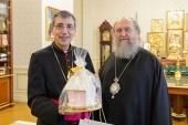 Состоялась встреча митрополита Астанайского Александра с председателем конференции католических епископов Казахстана