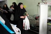 Сотрудники Московской Патриархии поздравили с Рождеством пациентов паллиативного отделения больницы святителя Алексия