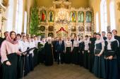 Президент Татарстана Рустам Минниханов посетил Казанскую духовную семинарию