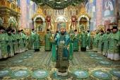 Митрополит Волоколамский Иларион возглавил празднование дня памяти преподобного Серафима Саровского в Серафимо-Дивеевском монастыре