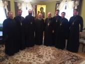 Блаженнейший митрополит Киевский и всея Украины Онуфрий встретился с духовенством Винницкой епархии