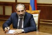 Поздравление Святейшего Патриарха Кирилла Н.В. Пашиняну с назначением на пост Премьер-министра Республики Армения