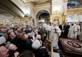 Проповедь Святейшего Патриарха Кирилла в праздник Крещения Господня после Литургии в Богоявленском кафедральном соборе в Москве