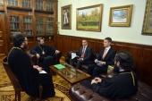Председатель ОВЦС встретился с новоназначенным послом Венгрии в России