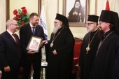 Предстоятель Антиохийской Православной Церкви принял делегацию российских парламентариев