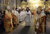 Представитель Русской Православной Церкви принял участие в торжествах по случаю тезоименитства Святейшего Патриарха Болгарского Неофита