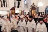 Патриарший наместник Московской епархии освятил храм блаженной Матроны Московской в подмосковном Ногинске
