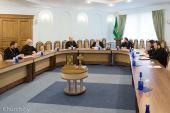Патриарший экзарх всея Беларуси возглавил заседание Епархиального совета Минской епархии