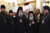 Клирики Русской духовной миссии посетили новогодний прием в мэрии Иерусалима
