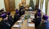 Состоялось заседание Архиерейского совета Омской митрополии