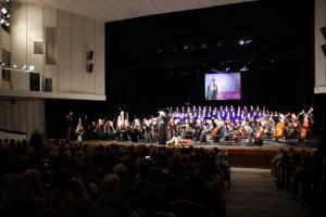 Концерт, посвященный 10-летию интронизации Святейшего Патриарха Кирилла, прошел в Смоленске