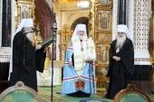 Поместный Собор 2009 года. Избрание митрополита Кирилла Патриархом Московским и всея Руси