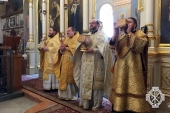 На русском подворье в Яффе отметили 125-летие освящения храма