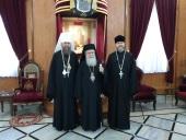 Управляющий делами Украинской Православной Церкви встретился с Патриархом Иерусалимским Феофилом