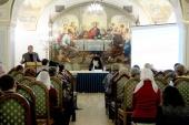 В Храме Христа Спасителя состоялись презентации изданий, получивших гриф Синодального отдела религиозного образования и катехизации