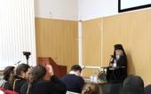 Председатель Синодального отдела по благотворительности возглавил первую в истории Рождественских чтений секцию, посвященную больничному служению