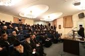 В Москве состоялось совещание с представителями епархиальных отделов по взаимодействию с Вооруженными силами и правоохранительными органами