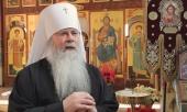 Поздравление Святейшего Патриарха Кирилла Блаженнейшему Митрополиту всей Америки и Канады Тихону с годовщиной архиерейской хиротонии