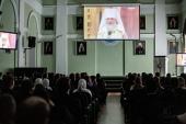 В СПбДА состоялись мероприятия, посвященные 10-летию Поместного Собора и интронизации Святейшего Патриарха Кирилла