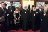 Завершилось пребывание в Москве Святейшего Патриарха Сербского Иринея