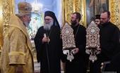 Блаженнейший Патриарх Антиохийский Иоанн X посетил Антиохийское подворье в Москве