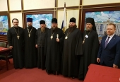 Завершилось пребывание в Москве Предстоятеля Православной Церкви Чешских земель и Словакии
