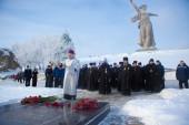 Иерархи Русской Православной Церкви приняли участие в праздновании 76-й годовщины разгрома немецко-фашистских войск под Сталинградом